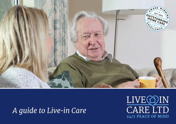 Live In Care brochure